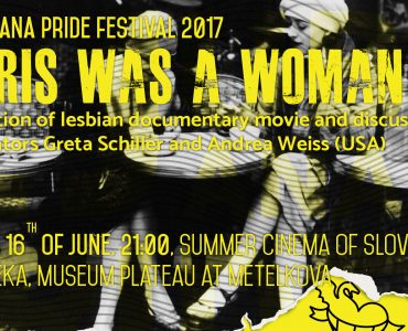 Projection of lesbian documentary movie Paris was a women