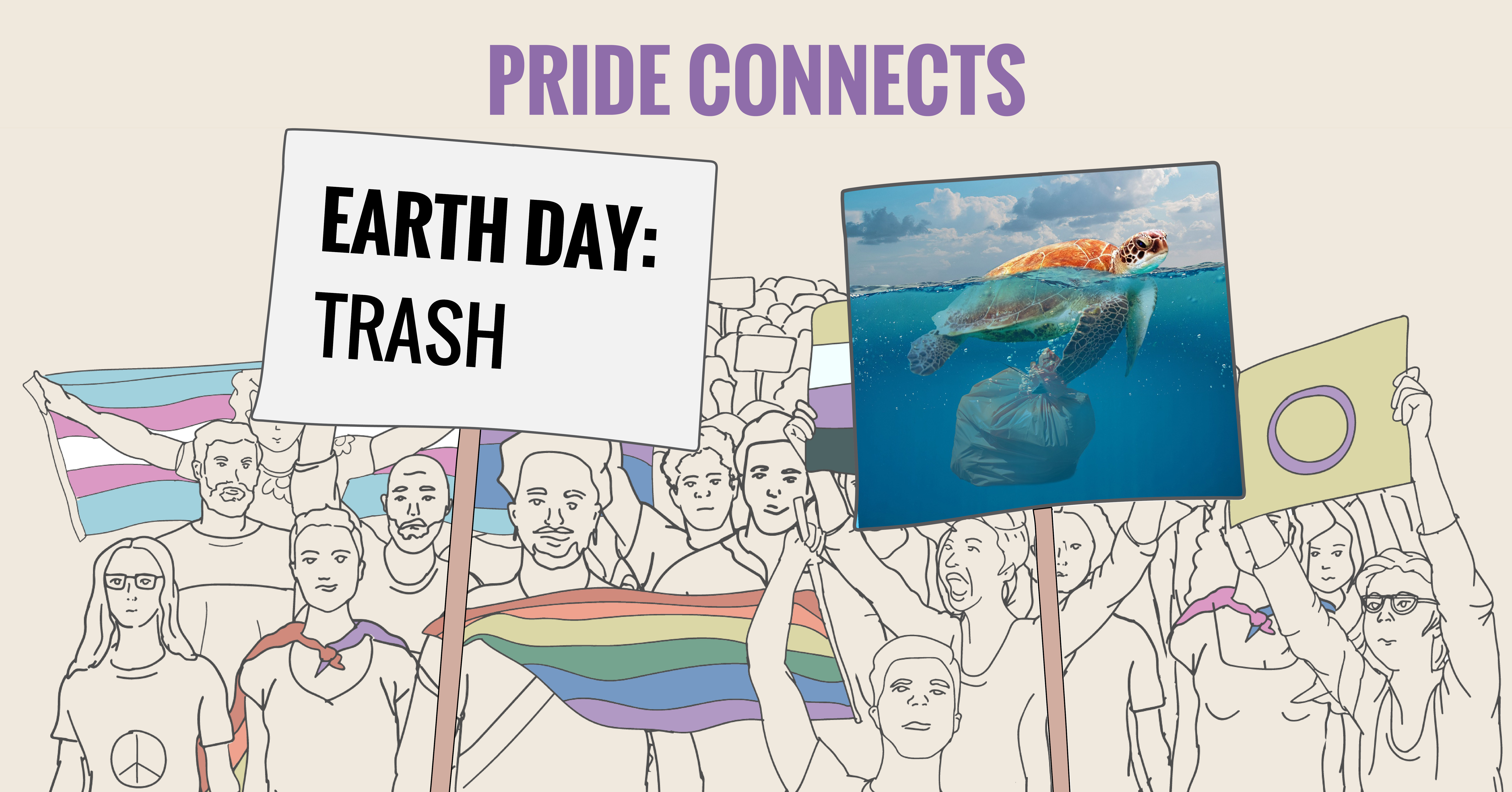 Pride Connects: Trash