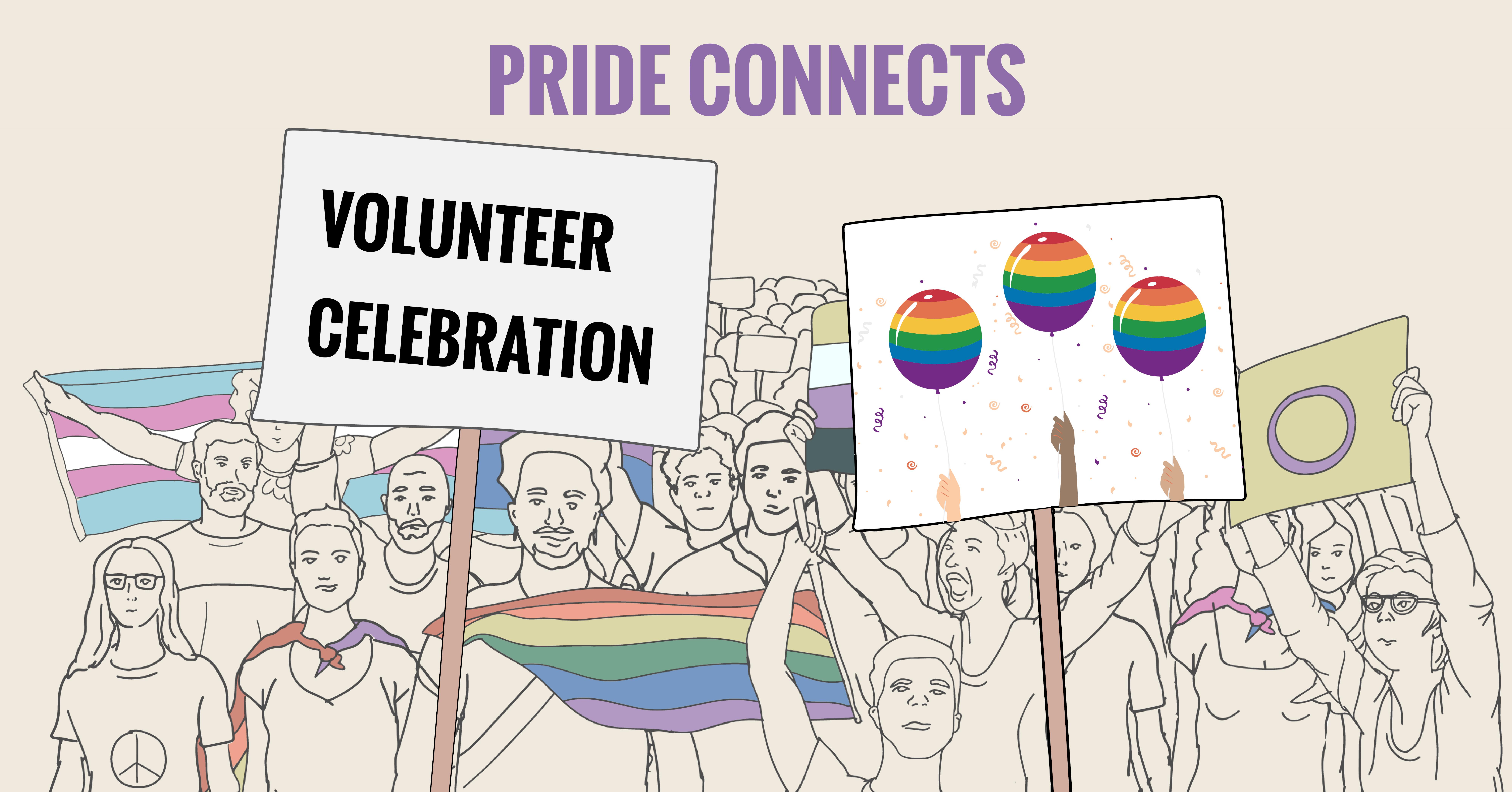 Pride Connects: Volunteer Celebration